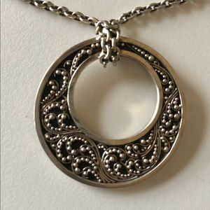 Jewelry - Lois Hill Sterling Silver Necklace